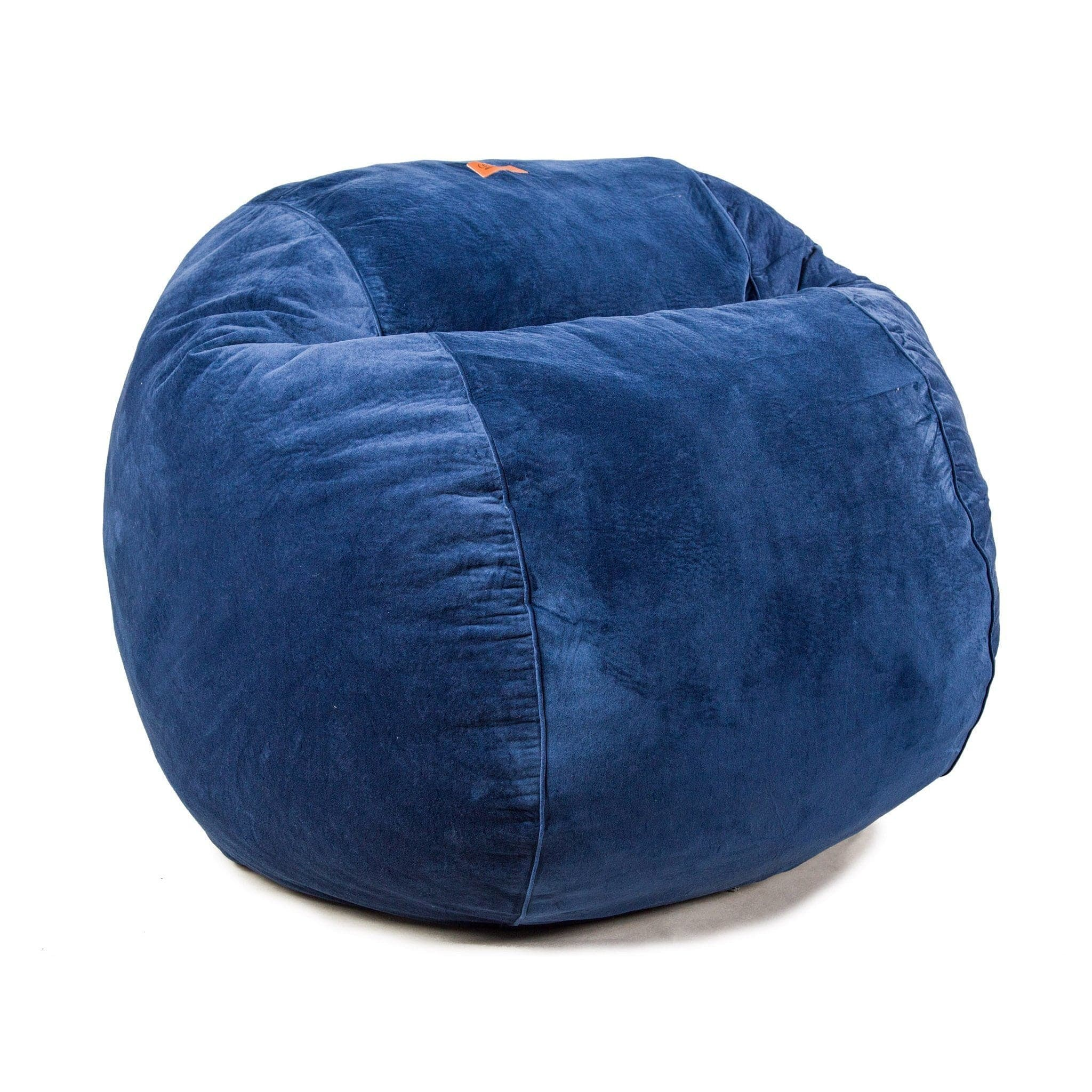 Bean Bags Chair Queen Chair Plush Velour